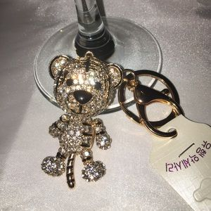 Bag Charm / Keychain Bedazzled-Jeweled Tiger