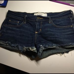 Abercrombie & Fitch Pants - Abercrombie and fitch jean shorts