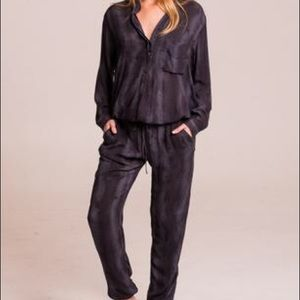 Indah Pants - Indah Pinnacle Snake Slate Jumpsuit