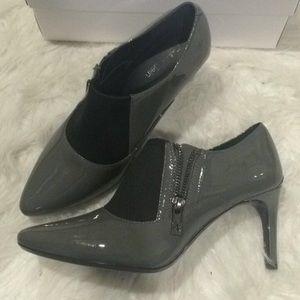 Calvin Klein glossy heels