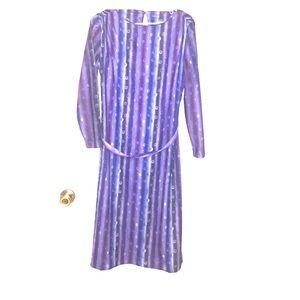Vintage 16 Dress 60's 70's 80's