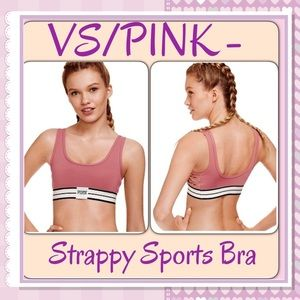 PINK Victoria's Secret Other - 🆕VS/PINK- Ultimate Strappy side Sports Bra