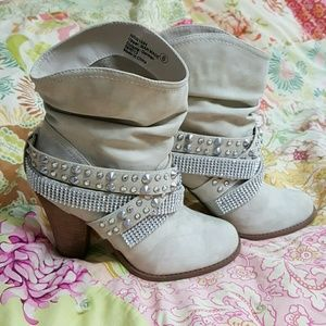 Not Rated Shoes - Studded booties