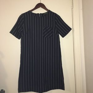 Maude Dresses & Skirts - Maude Pinstripe Dress