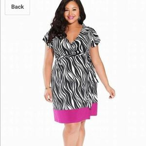 Igigi Dresses & Skirts - Zebra print dress