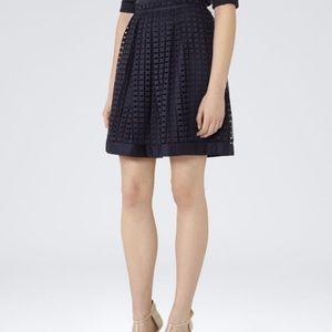 Reiss Dresses & Skirts - Reiss Skirt Navy Blue Lace Women's NWT Sz 4 Spring