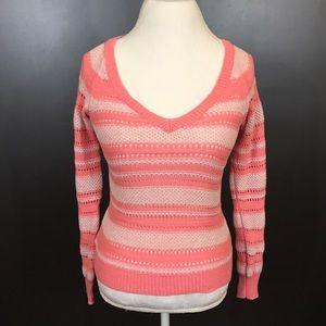 Women's Aeropostale Pink Knit Sweater