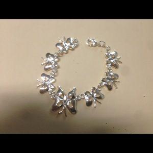 11thstreet Jewelry - Sterling Silver bracelet butterfly