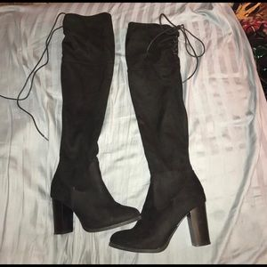 Charlotte Russe Shoes - Size 7 Thigh High Boots
