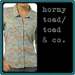 Horny Toad Tops - Toad&Co Willowy Ls Organic Cotton S Shirt NWT