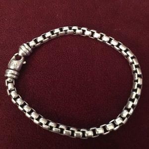 "David Yurman Jewelry - David yurman 8"" men's heavy weight bracelet"