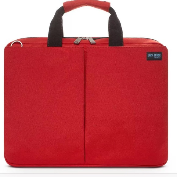 Jack Spade Bags Laptop Bag Brand New With Tag Red Poshmark