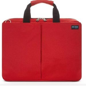 Jack Spade laptop bag brand new with tag red