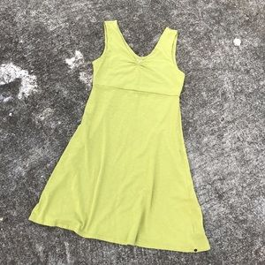 Horny Toad Dresses & Skirts - Horny Toad Green Sleeveless A Line Cotton Dress