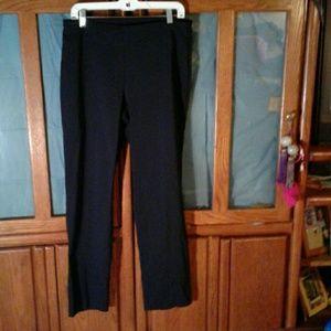 DANA BUCHMAN  Pants - DANA BUCHMAN BLACK STRETCH PANTS SIZE M