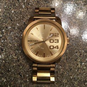 Diesel Accessories - Authentic Gold Diesel DZ1466 watch