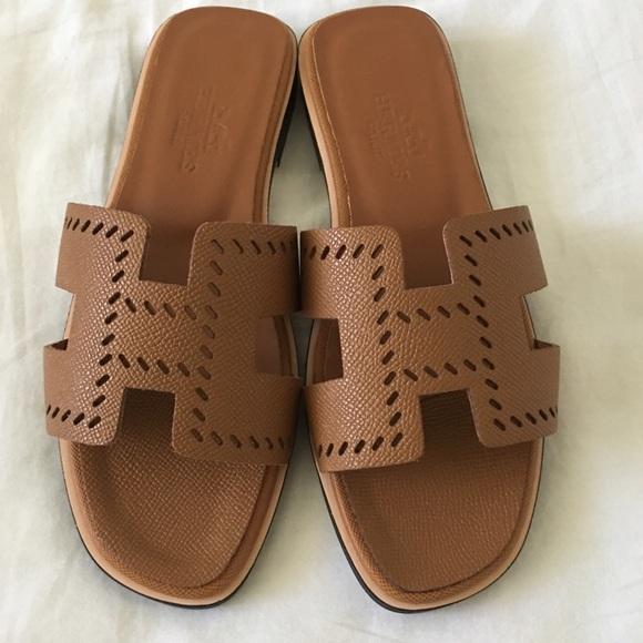 137b15e260f7 Hermes Shoes - HERMES LADIES ORAN SANDALS (SIZE EURO 36   5.5 US)