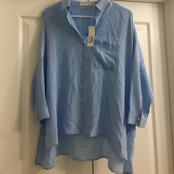 c801c854 Anne Fontaine Tops | Perdy Silk Crepe Button Down Shirt | Poshmark