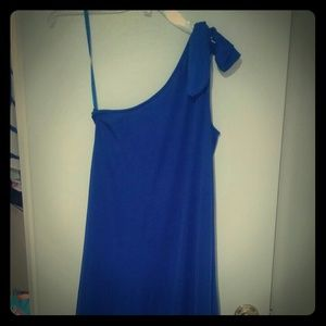 Diane von Furstenberg Dresses & Skirts - NWT DVF one-shoulder dress. Size 8/ Large
