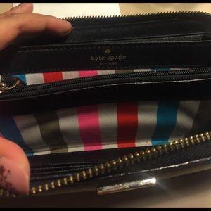kate spade Bags - Kate Spade black clutch wallet