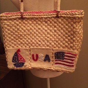 Quacker Factory Handbags - 🇺🇸NWT Quacker Factory straw purse