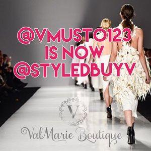 CLOSET NAME CHANGE for @vmusto123