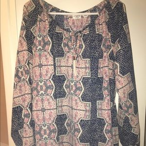 Beautiful ethnic print blouse