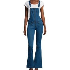 Arizona Jean Company Denim - Arizona Zip-Front Overalls