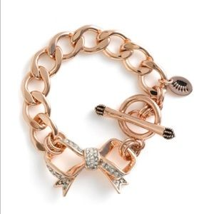 Juicy Couture Jewelry - Juicy Couture B-Pave Bow Bracelet