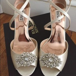 Badgley Mischka Shoes - Badgley Mischka Wedges UNWORN brand new! Size 9!