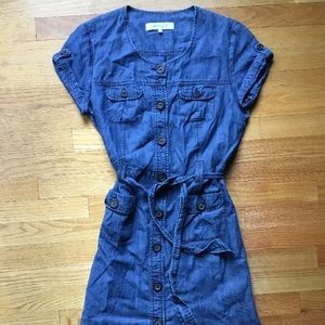 Gerard Darel Dresses & Skirts - Gerard Darel Indigo Dyed Denim Dress, Size 42