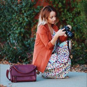 Jo Totes Handbags - Jo Totes Johansen Camera Bag Abby Marsala