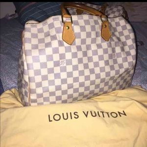 Authentic Louis Vuitton speedy 35 azur