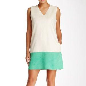 Gracia Dresses & Skirts - Gracia Green and White Shift Dress