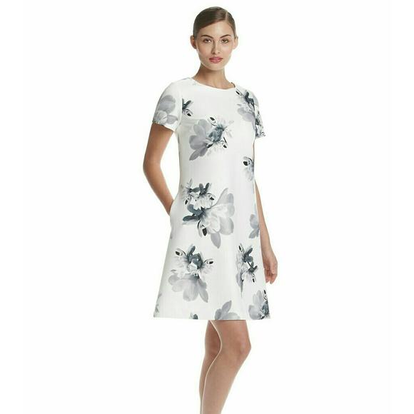 6c0fe3027d Tommy Hilfiger Dresses   New Floral Scuba Shift Dress Nwt   Poshmark