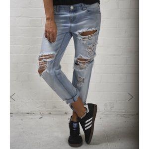 NWT one teaspoon awesome baggies jeans 26