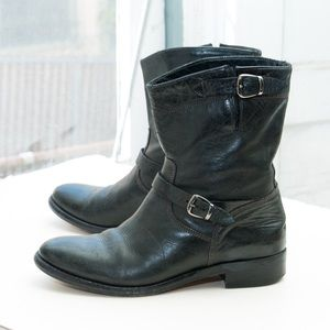 Belstaff Shoes - Belstaff 'Bedford Short' engineer moto boot
