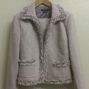 ECI Jackets & Blazers - Unique suit jacket & skirt combo