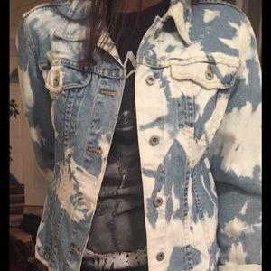 Jackets & Blazers - Custom Cloud Wash Denim Jean Jacket - Sundance
