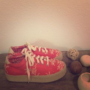 Summer is coming!!! Esparto sole platform shoes