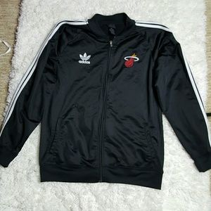 Adidas Other - Adidas Men's Miami Heat Track Jacket XL
