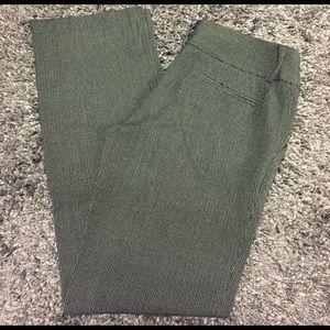 Tweed-like work pants