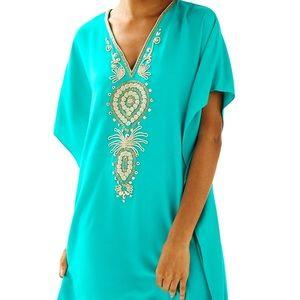Lilly Pulitzer Chai V-Neck Caftan Dress