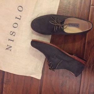 Nisolo Shoes - Nisolo Oliver Oxford Slate Grey