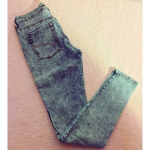Bullhead Pants - BULLHEAD DENIM CO. High Waisted Skinniest Jeans