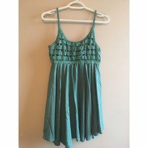 O'Neill Dresses & Skirts - Teal Crochet Sundress
