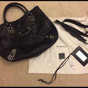 Balenciaga Handbags - Balenciaga Metallic Edge Classic City Bag