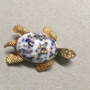 Vintage Sea Turtle pin