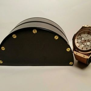 Hublot Other - Hublot Classic Fusion Rose Gold/Calf Leather
