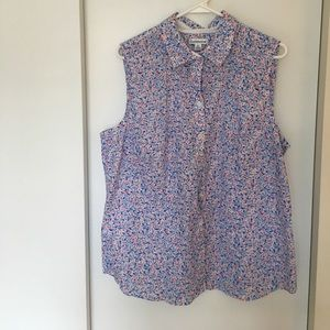 croft & barrow Tops - Cute summery print blouse.